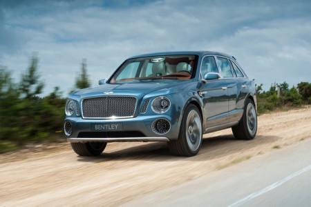 прототип внедорожника Bentley EXP 9 F