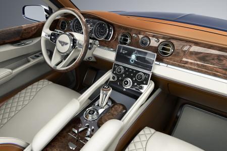 салон Bentley Bentayga