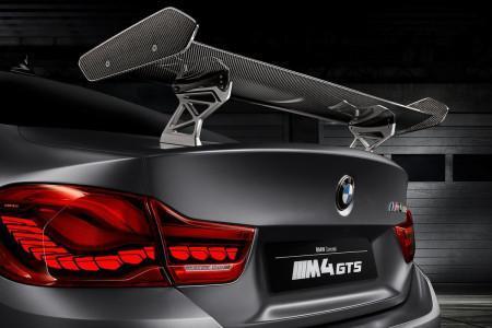 спойлер BMW M4 Coupe GTS