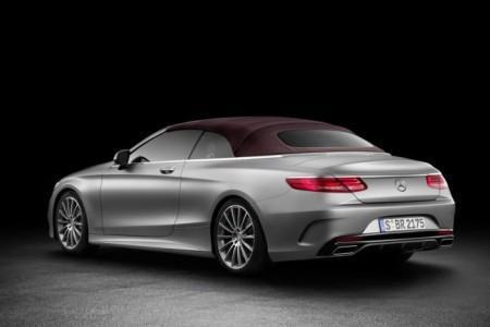 тканевый верх Mercedes-Benz S-Class Cabriolet