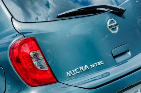 шильдик Nissan Micra N-Tec