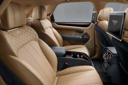Bentley Bentayga - интерьер