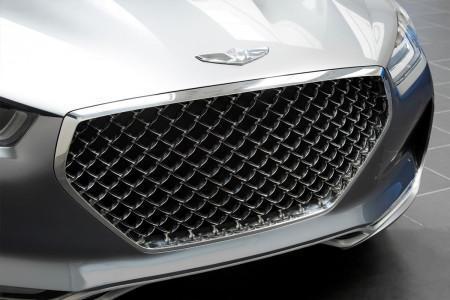 Hyundai Vision G - решетка радиатора