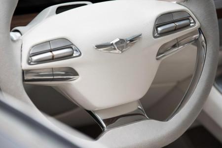 Hyundai Vision G - рулевое колесо