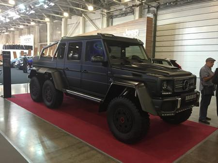 Mercedes 6x6 Brabus на Moscow Off-road Show 2015
