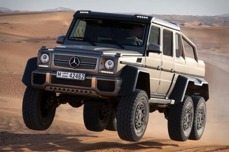 Mercedes-Benz G63 AMG 6×6