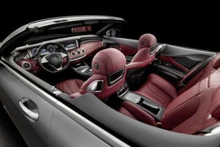 Mercedes-Benz S-Class Cabriolet - интерьер