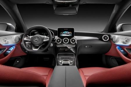 Mercedes C-Class Coupe 205 - передняя панель
