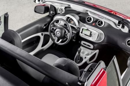 Smart ForTwo Cabrio 3 - салон