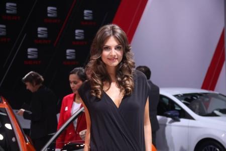 girls of the 66 Frankfurt Motor Show