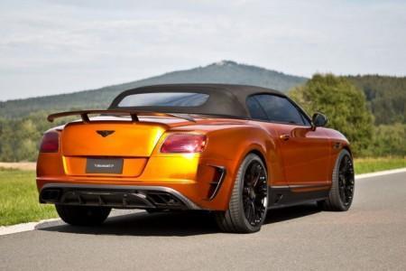 кабриолет Bentley Continental GTC с тюнингом от Mansory