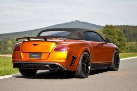 кабриолет Bentley Continental GTC с тюнингом от Mansory