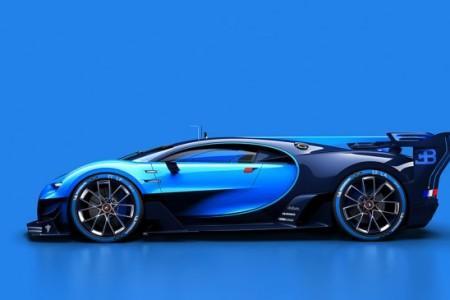 концепт-кар Bugatti Vision