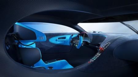 салон Bugatti Vision