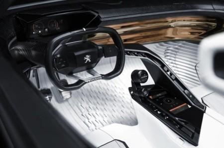 салон Peugeot Fractal Concept