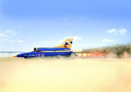 суперкар Bloodhound SSC