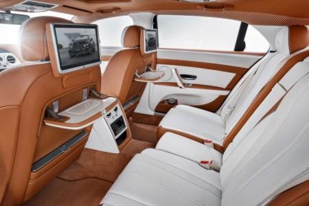 тюнинг интерьера Bentley Flying Spur от Startech
