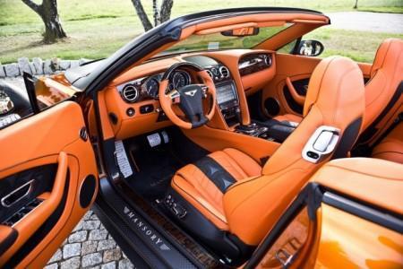 тюнинг салона Bentley Continental GTC от Mansory