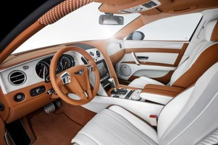 тюнинг салона Bentley Flying Spur от Startech