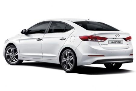 Hyundai Elantra 2016 в новом кузове