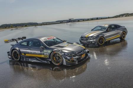 Mercedes-AMG C63 для гонок DTM