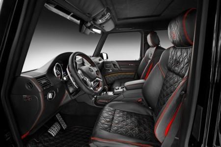 Mercedes G500 4x4 Brabus - салон