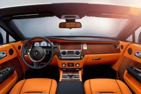 Rolls-Royce Dawn - салон кабриолета