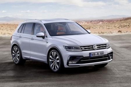 Volkswagen Tiguan 2 в новом кузове