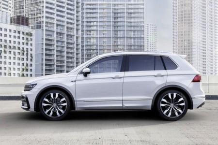 Volkswagen Tiguan 2016 в новом кузове