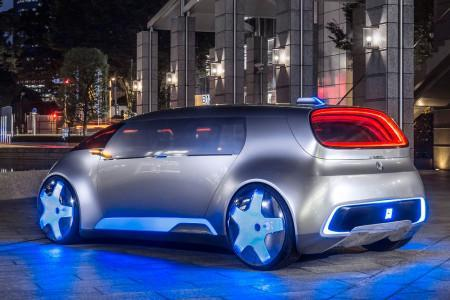 беспилотный концепт Mercedes Vision Tokyo