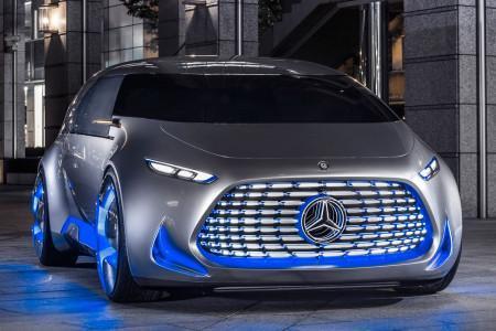 беспилотный минивэн Mercedes Vision