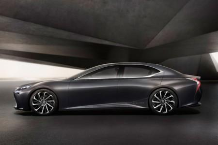 концепт Lexus LS 5 поколения