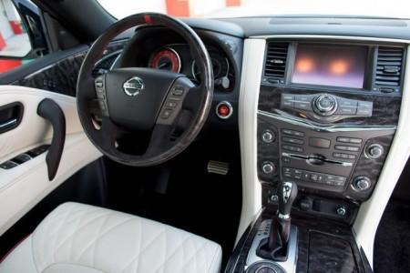салон Nissan Patrol Nismo