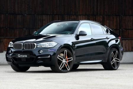 BMW X6 M50d от тюнинг-ателье G-Power