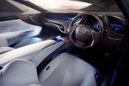 Lexus LF-FC Concept - салон