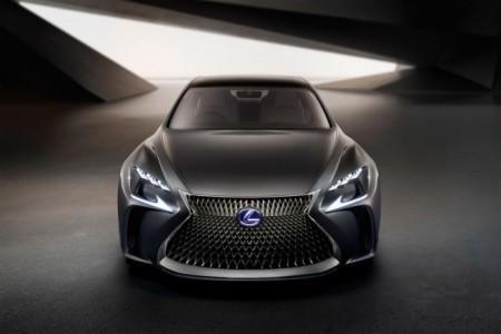 Lexus LF-FC Concept - экстерьер