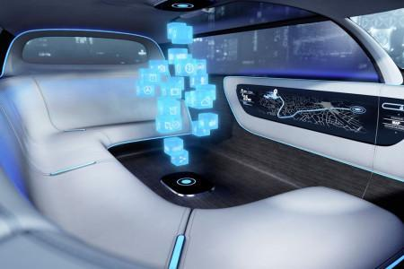 Mercedes-Benz Vision Tokyo - интерьер