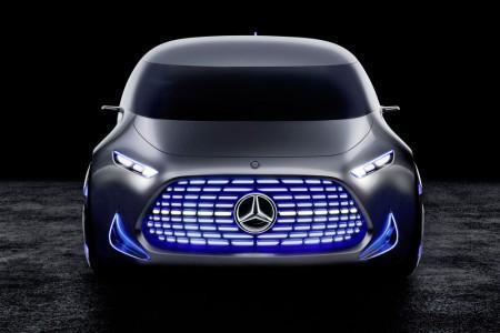 Mercedes-Benz Vision Tokyo - радиаторная решетка