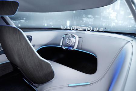 Mercedes-Benz Vision Tokyo - салон