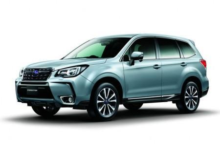 Subaru Forester рестайлинг 2016