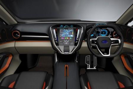 Subaru VIZIV Future - салон