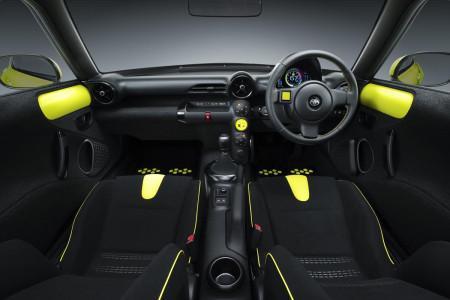 Toyota S-FR Concept - салон