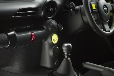 Toyota S-FR Concept - центральная консоль