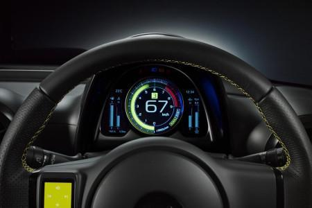 Toyota S-FR Concept - щиток приборов