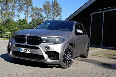 BMW X5 M (F85) от тюнинг-ателье Manhart Performance
