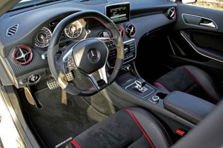 Mercedes-AMG A45 Edition 1 от тюнинг-ателье Posaidon - салон