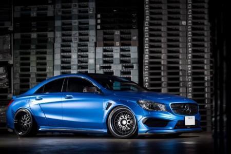 Mercedes CLA от тюнинг-ателье Fairy Design