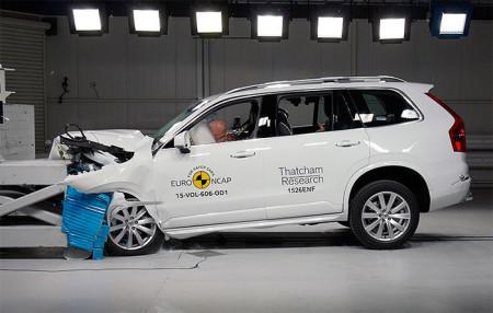 краш-тест Volvo XC90 2016