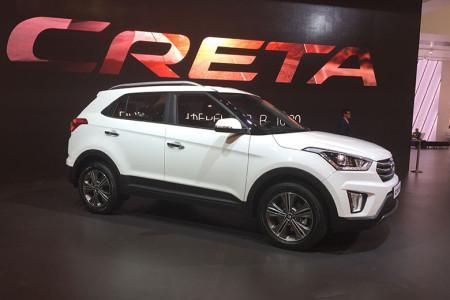 Hyundai Creta на Московском автосалоне 2016