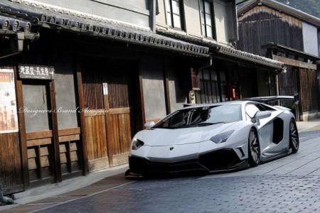 Lamborghini Aventador от ателье Aimgain